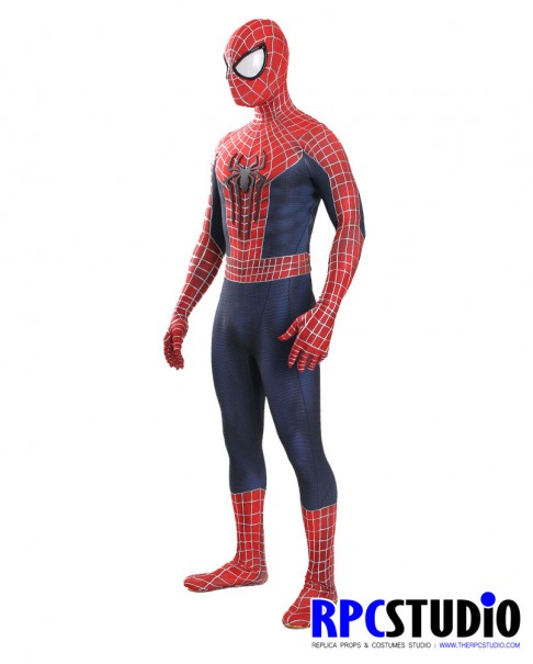 TASM2 (SET D) WITH 3D WEBBING METALLIC SILVER PUFFYPAINT & EMBOSS FRONT SYMBOL