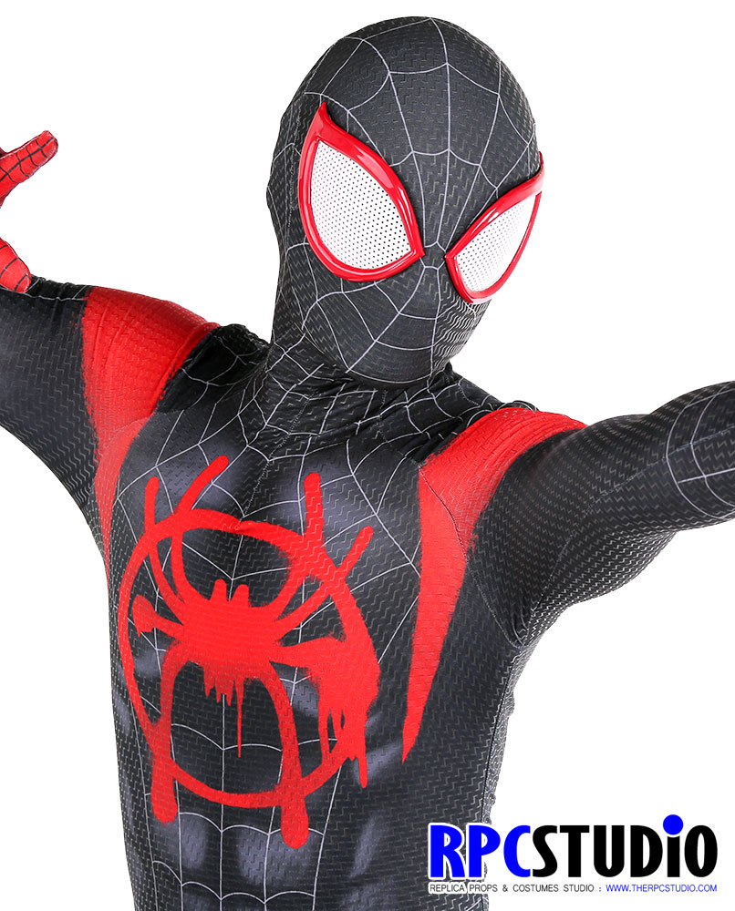 Replica props superhero costumes studio therpcudio miles verse 027q3 with shiny brick screenprint jeuxipadfo Images