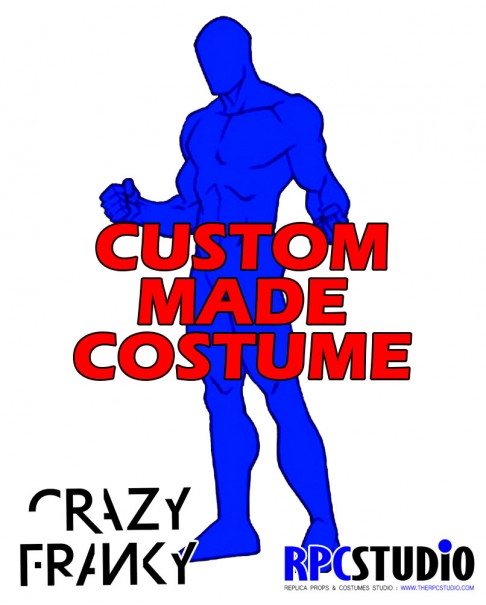 CRAZY FRANKY CUSTOM MADE COSTUME