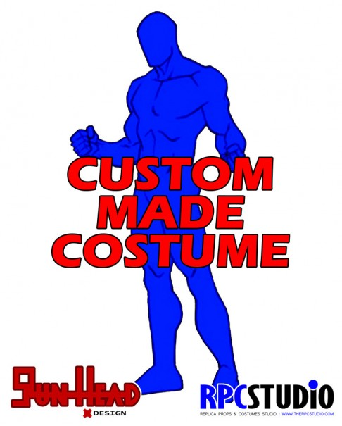 GUN HEAD DESIGN CUSTOM MADE COSTUME