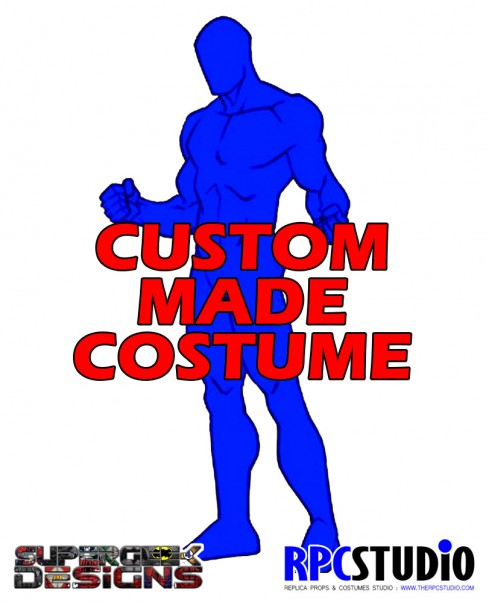 SUPERGEEK DESIGNS CUSTOM MADE COSTUME