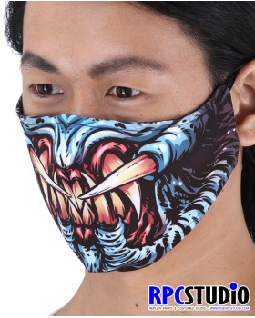 MONSTER BLUE FACEMASKS