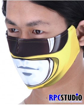 RANGER YELLOW FACEMASKS