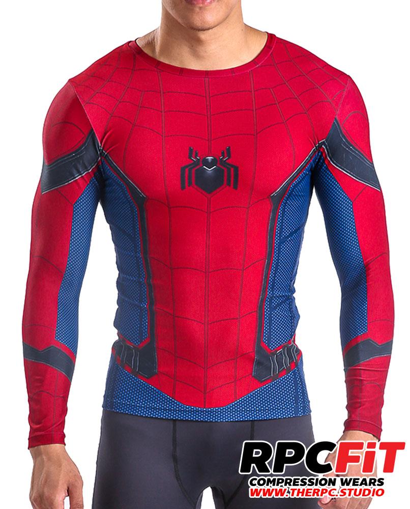 Replica props superhero costumes studio therpcudio homecoming long sleeve shirts free shipping worldwide jeuxipadfo Images