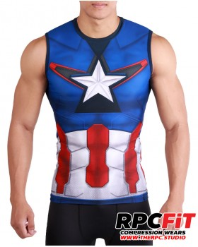 CAPT SLEEVELESS SHIRTS  : FREE SHIPPING WORLDWIDE